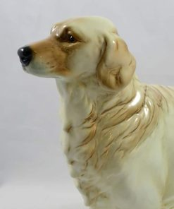 Large Rare Goebel Golden Retriever Side View- Dog's Tale Collectibles
