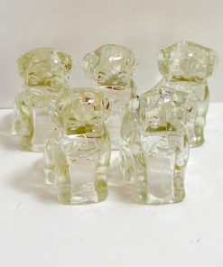 5 Federal Glass Mopey Dog Back- Dog's Tale Collectibles