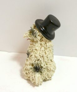 Spaghetti Sheepdog in a Top Hat Back 121- Dog's Tale Collectibles