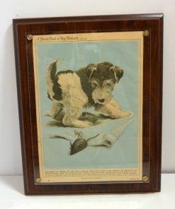 Wire-Haired Fox Terrier Puppy Front 121- Dog's Tale Collectibles