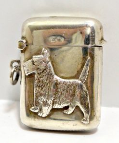 Sterling Silver Scottie Dog Front 11- Dog's Tale Collectibles
