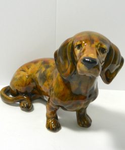 Large Hand Painted Dachshund Dog Front101- Dog's Tale Collectibles