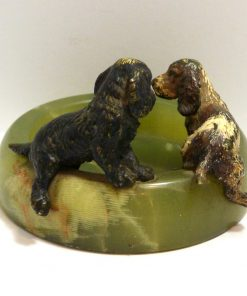 Cocker Spaniel Dog Pair Back- Dog's Tale Collectibles