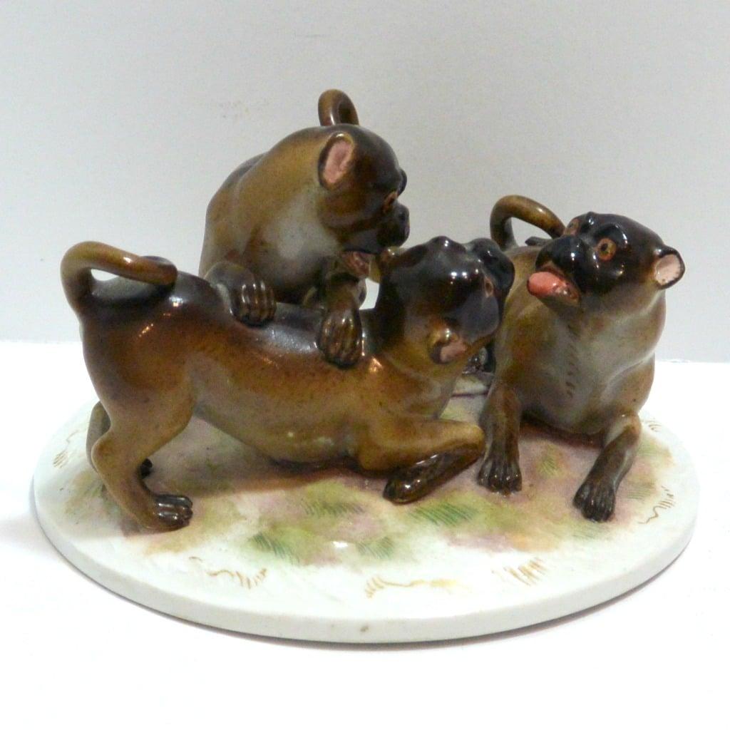 porcelain pugs